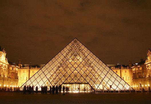 Ieoh Ming Pei - Piramide Louvre