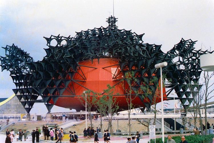 Toshiba-IHI Padiglione 1970 Expo di Osaka. Immagine © Flickr uso M-Louis sotto licenza CC BY-SA 2.0