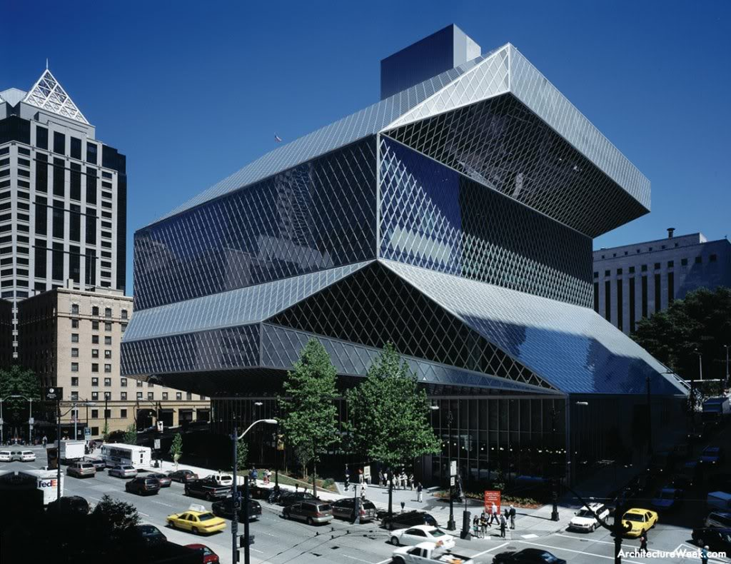 Rem Koolhaas - Biblioteca Centrale di Seattle