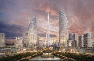 The Tower at Dubai Creek Harbour @Credit_Santiago Calatrava