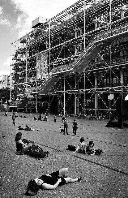 Centre Pompidou - Rogers, Piano
