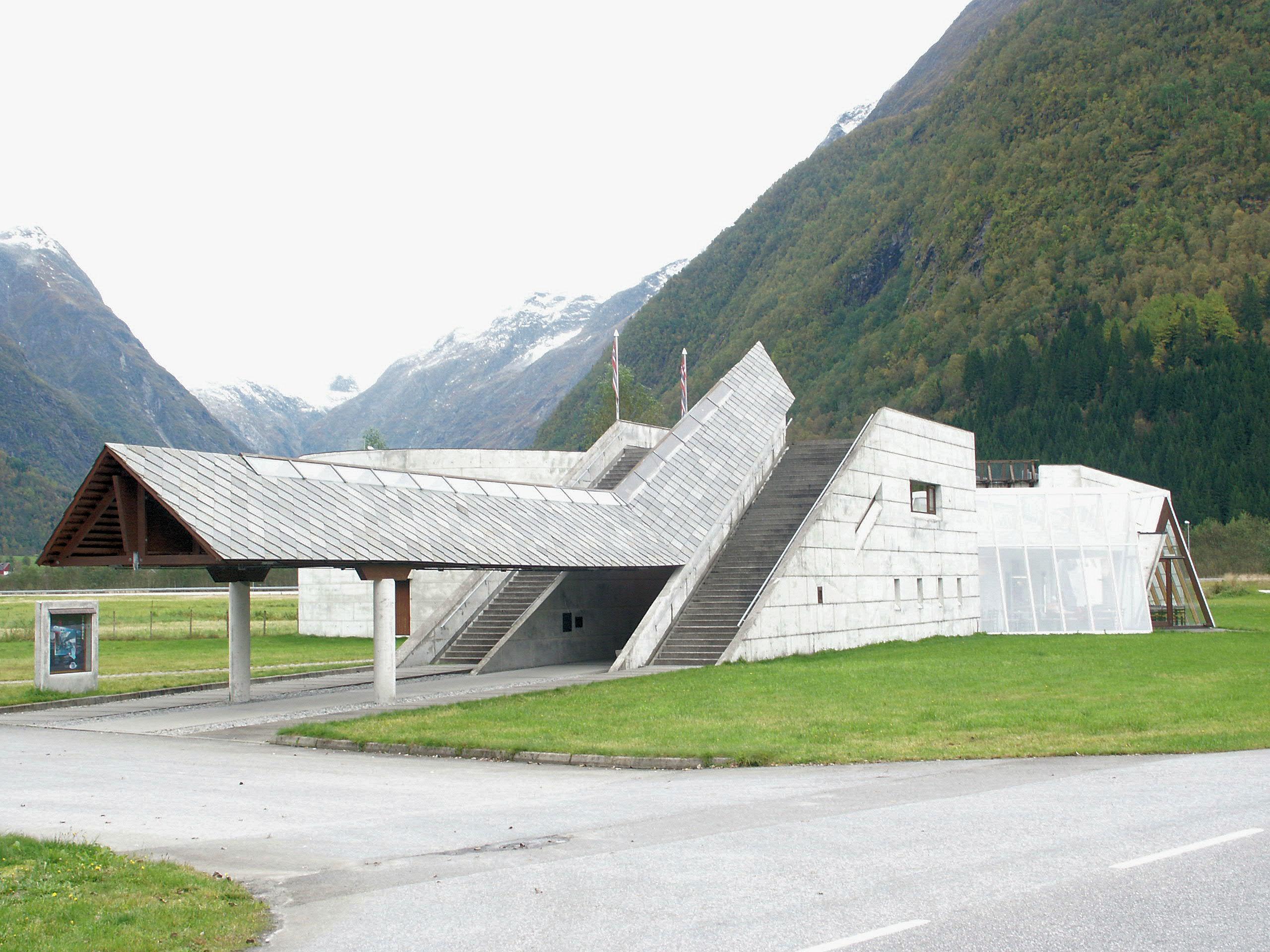 Sverre Fehn - Museo Norvegese dei ghiacciai