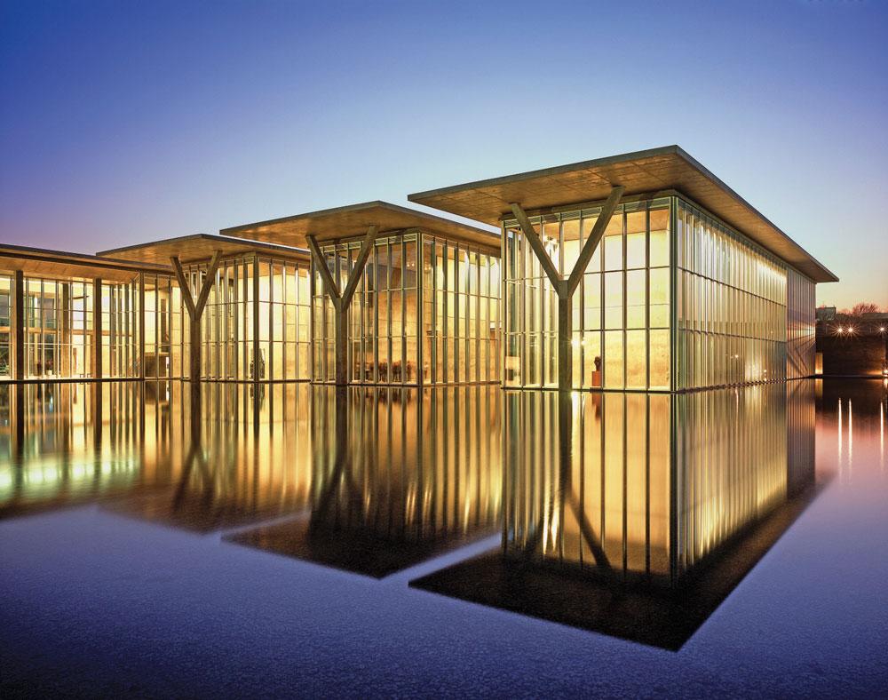 Tadao Ando - Modern Art Museum